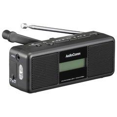 AudioComm 手回しラジオライト|RAD-M799N 07-3799