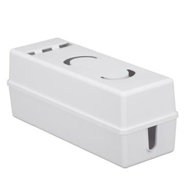 電源タップボックス ホワイト [品番]00-5007