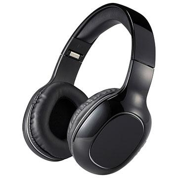 AudioComm Bluetoothステレオヘッドホン ブラック|HP-W260Z-K 03-0343