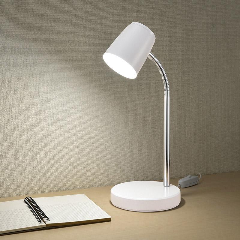 LEDデスクランプ USB電源式|DS-LS06USB-W 06-3722
