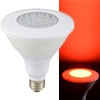 LED電球 ビームランプ形 E26 防雨タイプ 赤色|LDR13R-W/D 11 06-0957