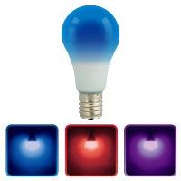 LED電球 E17 3カラー調色 青色スタート_LDA2A-G/CK-E17AH9 06-3446