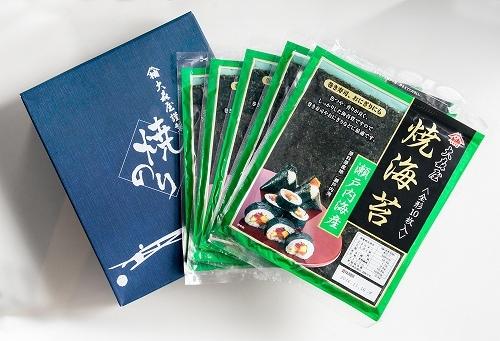 瀬戸内海産板のり5帖入り(箱入り)