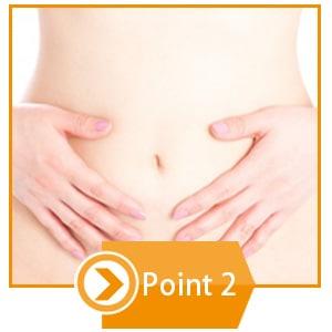 point2 善玉菌の大好物