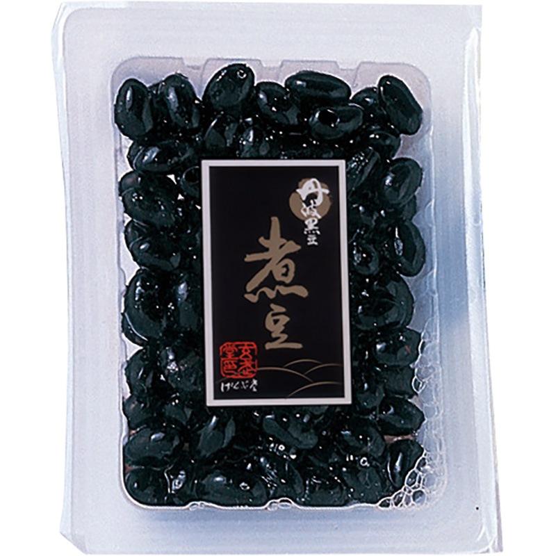 大粒丹波黒煮豆ミニトレ