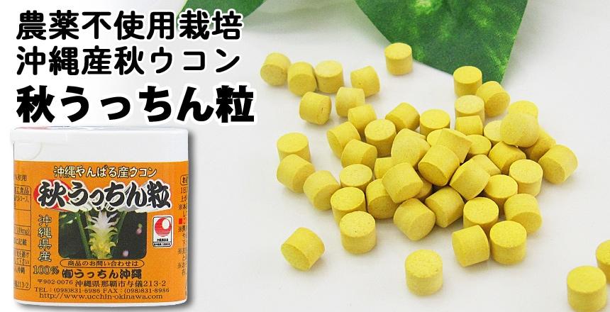 沖縄産秋ウコン 秋うっちん粒 少量タイプ