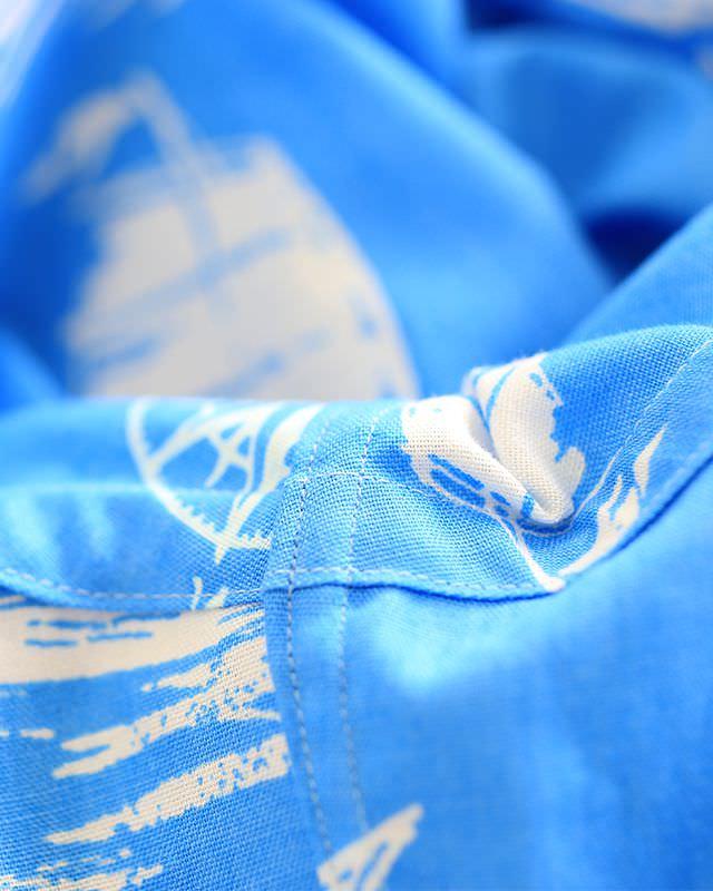沖縄アロハシャツファクトリーの生地