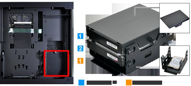 d598d02b41 Lian Li PC-O5   PCパーツ,PCケース,Mini-ITX対応ケース   OLIOSPEC