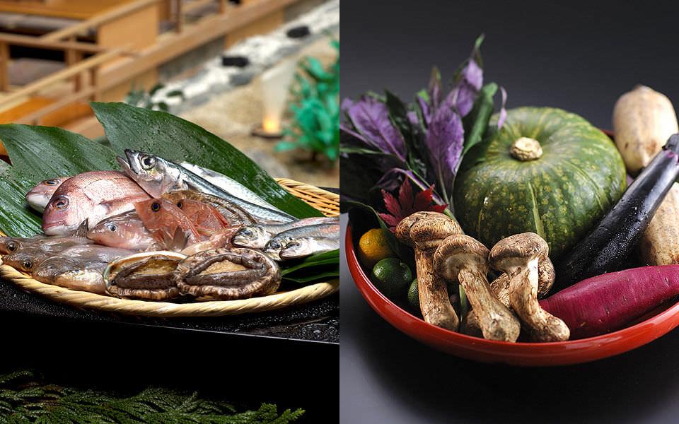 世界農業遺産能登ならではの厳選食材