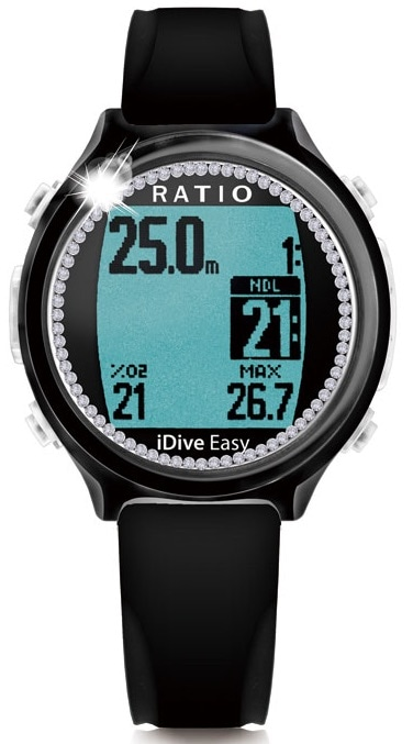 RATIO(レシオ) iDive Easy Black Sea Jewel