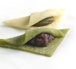 抹茶と宇治玉露の生八つ橋:お茶のおたべ