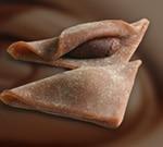 チョコレートあんの生八つ橋:チョコおたべ