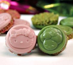 抹茶の生八つ橋ケーキ:京町家ケーキ