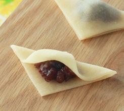 《11月限定》十一月のおたべ 雪待月-ゆきまちづき- 赤豌豆入りつぶあん