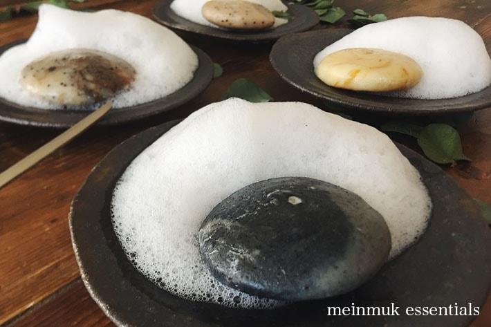 [meinmuk essentials][サンプルサイズ]マニマックエッセンシャルズ 無添加 手捏ね石鹸
