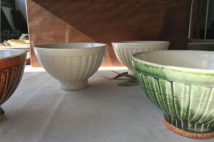 [林 英樹]しのぎ 茶碗