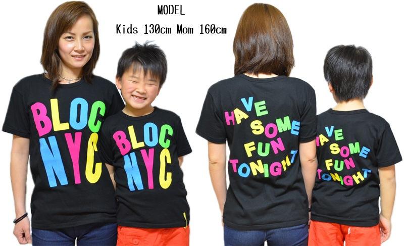 BLOC 親子ペア NYC Tシャツ
