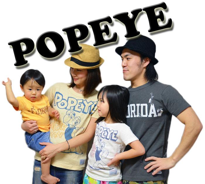 オフィシャルチーム ポパイコラボTシャツ