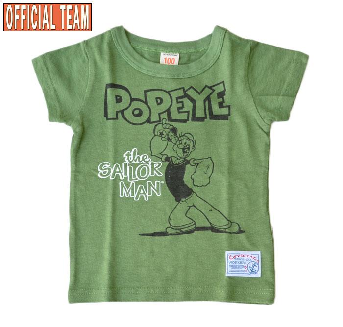 オフィシャルチーム×ポパイ Tシャツ