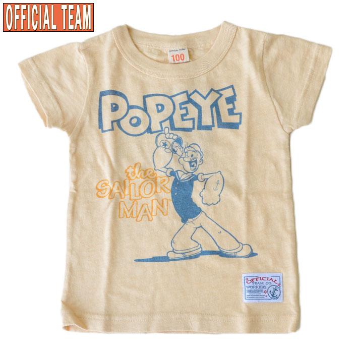 オフィシャルチーム×ポパイTシャツ