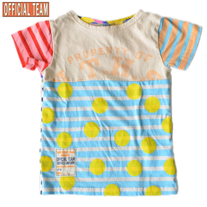 オフィシャルチーム リメイクTシャツ