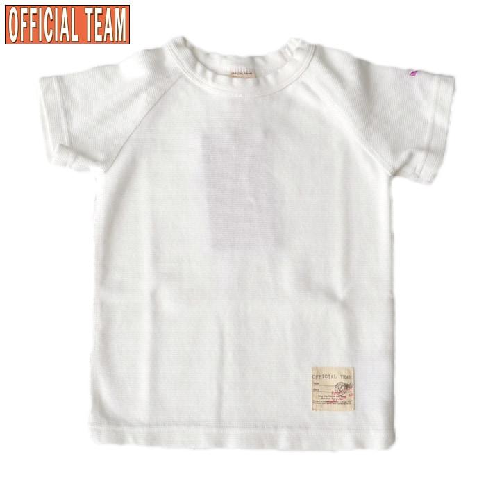 オフィシャルチーム スタンダードTシャツ ホワイト