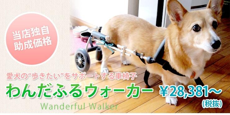 犬用車椅子わんだふるウォーカー