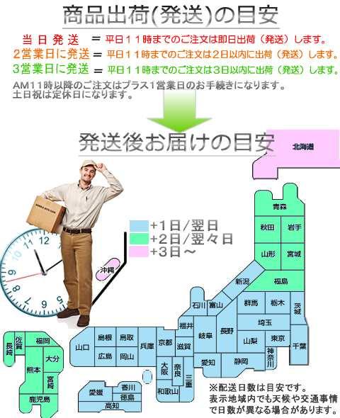 販促ゼロの発送地図