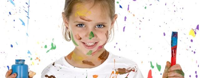 色塗り工作イメージ