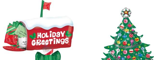 クリスマス風船イメージ