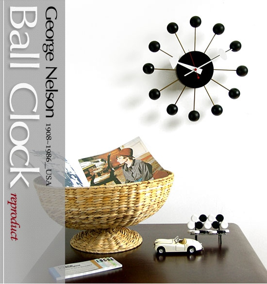 George Nelson Ball Clock [reproduct]