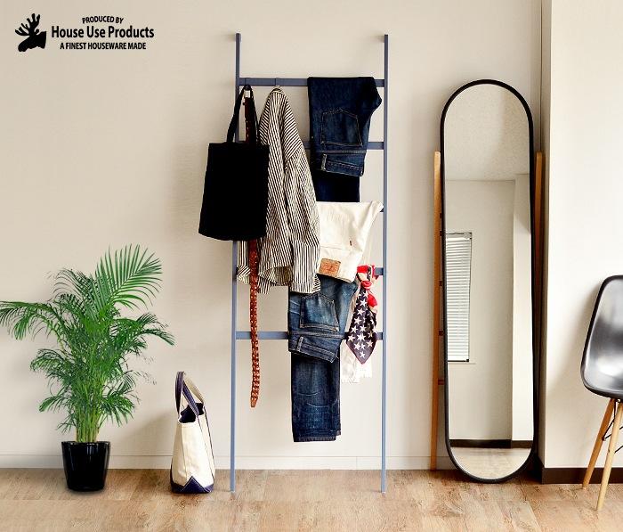 LADDER DENIM RACK Minot house use products ラダー デニム ラック マイノット シンプル オシャレ ファション 服飾小物 アイアン デザイン