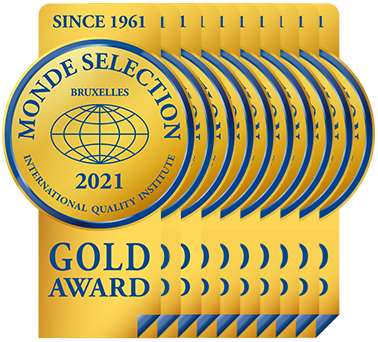 Monde Selection - Gold Quality Award