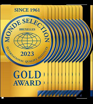 Monde Selection - Gold Quality Award