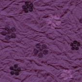 梅鉢 花柄[紫]