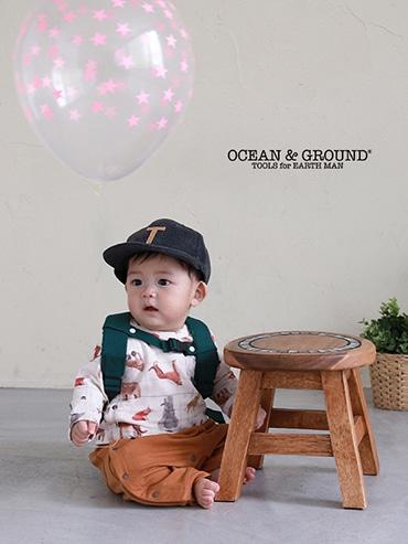 Ocean&Groun オーシャン&グラウンド BABY DAYPACK SMALL DAY