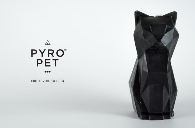 PYROPETS ユニーク ギフト キャンドル アニマル デザインギフト パイロペット