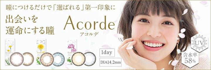 アコルデワンデー Acorde 1day
