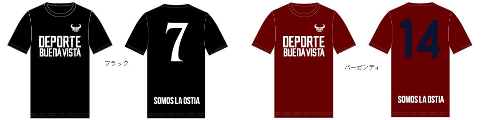 BUENAVISTA DEPORTE ブエナビスタ デポルテ BASIC LOGO PRACTICE S/S TEE BDTR-0223