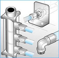 カンタッチ ジョイント カップリング 半導体 冷却水配管 ホース継手 ホースバンド 外れる 抜ける