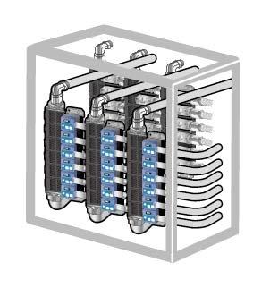 集合配管 KSL PSL 流量計 流量センサ コネクタ 継手 カンタッチ マニホールド