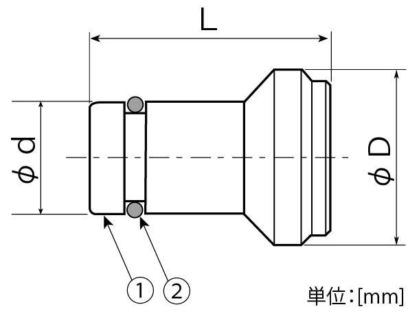 インサートプラグ寸法図