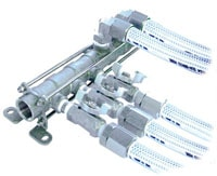 半導体装置の冷却水配管2