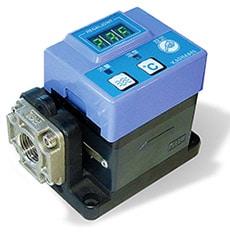 流量と温度を同時に計測 カルマン渦式流量計 KSL-5/10/30/50L
