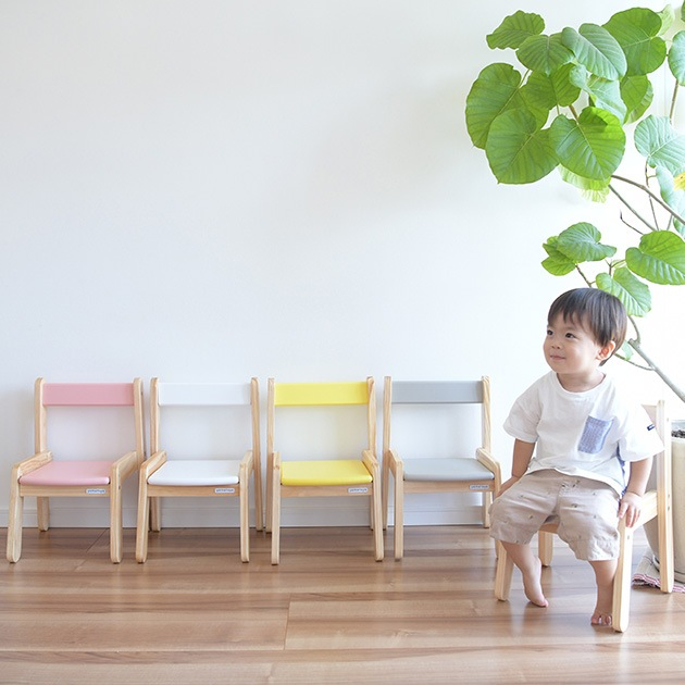 Circle キッズチェア   キッズチェア 子供椅子 木製 ローチェア 子供用 子供部屋 かわいい おしゃれ スタッキング 軽い