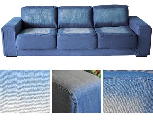 journal standard Furniture ジャーナルスタンダードファニチャー FRANKLIN SOFA 3P DENIM フランクリン ソファ デニム 3人掛け /ジャーナルスタンダード/家具/デニムソファ/3人掛け/ソファー/ソファ/おしゃれ/カバーリング/ローソファー/ビンテージ/