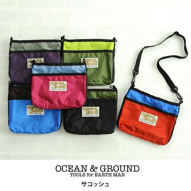 OCEAN&GROUND オーシャンアンドグラウンド サコッシュ