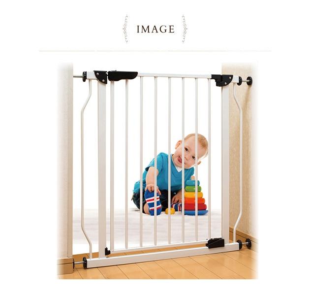 シンセーインターナショナル スチールゲート ホワイト  ベビーゲート 柵 赤ちゃん ベビー ゲート ベビーゲイト ペット