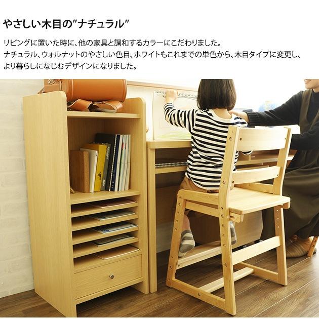 完成品・日本製のこどもと暮らしオリジナル Curio Life ランドセルラック スリム ナチュラルカラー
