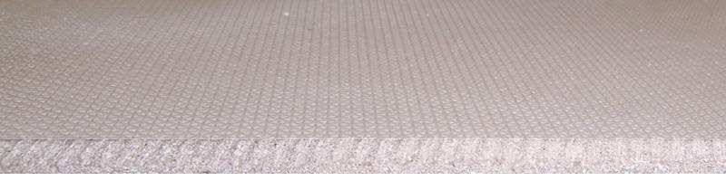 炉床板には高耐熱・機械強度・安全性に優れた人工石を使用!